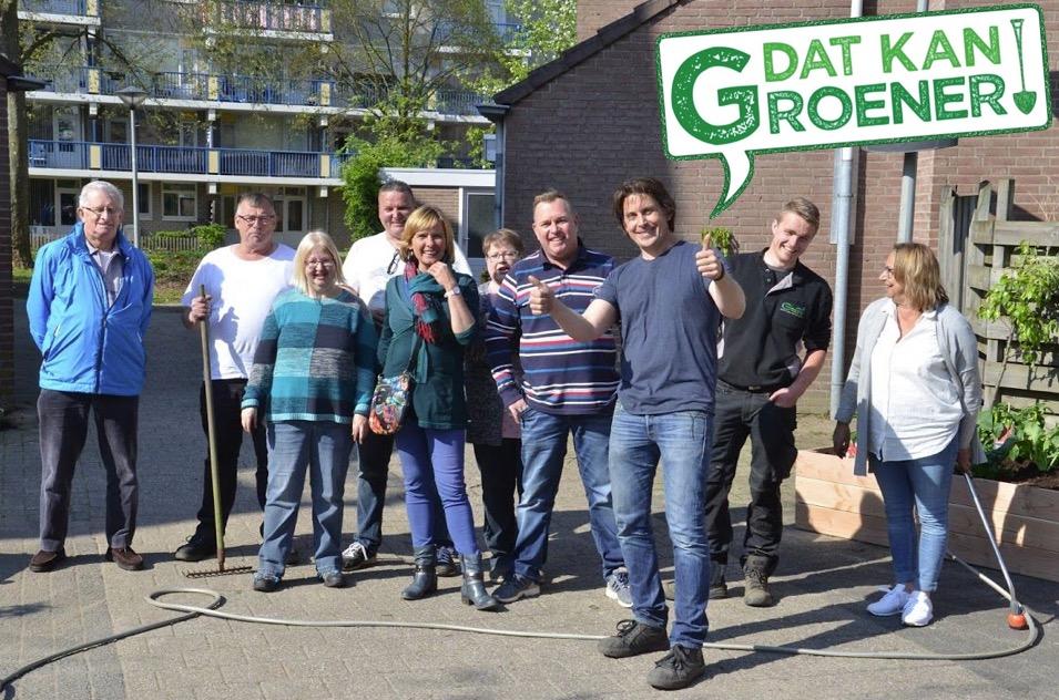 Arnhemse wijk een stukje groener dankzij 247Green!