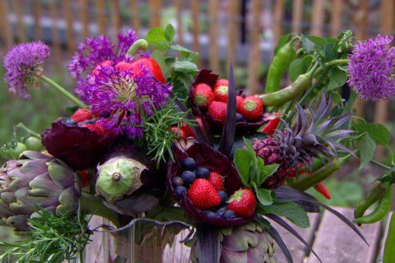 boeket van groenten
