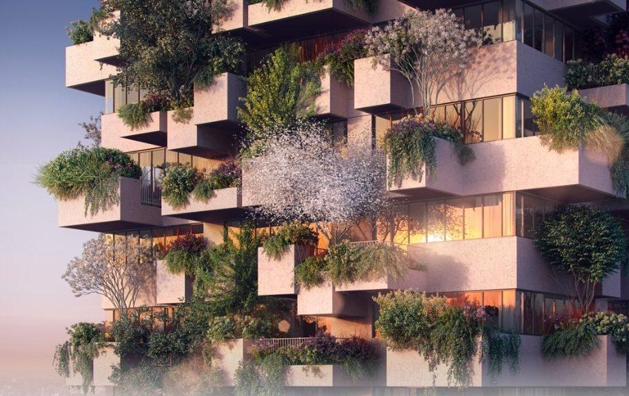 Ook in Eindhoven kun je straks groen wonen in een verticaal bos