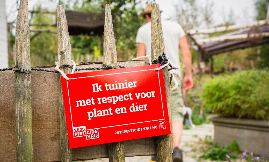 Tuinieren zonder gif met handige app van Velt